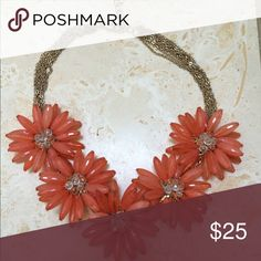 Beautiful Statement Necklace worn once! Perfect condition Jenny Boston Jewelry Necklaces