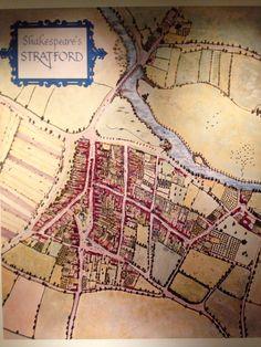 Shakespeare's Stratford inside the Shakespeare Birthplace Trust #Stratford #shakespeare