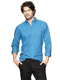 Men: Men: Long-Sleeve Shirts | Gap