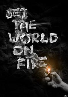 Set The World On Fire by ~myaki-ru on deviantART