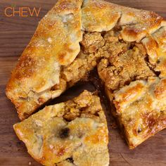 Carla Hall's Apple Pie with Cheddar Crumble #TheChew #ApplePie #4thofJuly