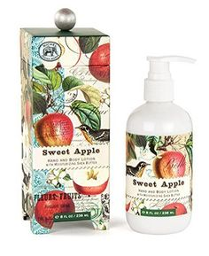 Sweet Apple Hand Body Shea Butter Lotion 8 oz Michel Design Works Gift * More info could be found at the image url.