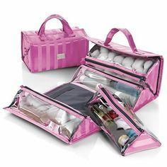 Roll N Go Travel Cosmetic Bag Beauty Blender