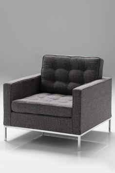 tweed modern chair