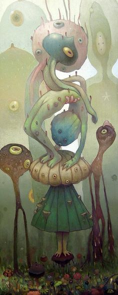 Surrealism and Visionary art: Dhear one