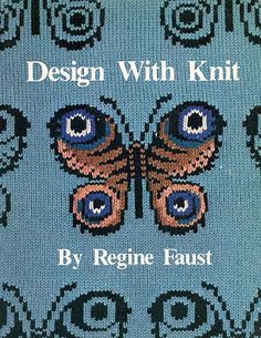 """Link to a book review of """"Design with Knit"""" by Regine Faust. The review is in German and English, by kind permission from Kerstin of the Strickforum blog."""