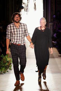 Más vestidos para ti: Vivianne Westwood Paris Fashion Week Primavera Ver...