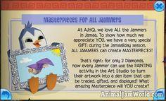 The Jamaalidays are Here! animal-jam-masterpieces  #AnimalJam #News http://www.animaljamworld.com/the-jamaalidays-are-here/