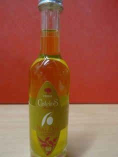 1 bouteille de 5 cl d'huile d'olive de cédrat  Voici mon 34 eme partenariat :) Tout en détails et photos ICI ------->http://lesdelicesdesandstyle.over-blog.com/2014/11/34-eme-partenariat-castelas.html