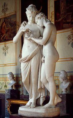 Antonio #Canova, 1808. #amore #psiche  Now in #Monza #Milano #arte http://www.visitmonza.it/2014/01/17/amore-e-psiche-alla-reggia-di-monza/