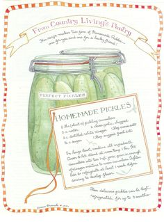country living magazine illustrated recipes - Yahoo Image Search Results