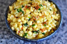 Bap Xao Tom Bo (Vietnamese Sauteed Corn with Dried Shrimp, Scallions, and Butter) by cathydanh!