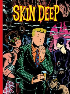 Skin Deep by Charles Burns - Vol 3 of the Charles Burns Library - (Fantagraphics Books edition in Like New condition. This out of print book is from my personal collection and from a smoke free environment. The book's dimensions are a. Popular Instagram Accounts, Broad City, Phoebe Waller Bridge, Inner World, Funny Drawings, Deep, Character Portraits, The World's Greatest, Comic Art
