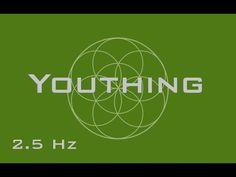 Youthing Meditation Music - Anti-Aging / Reverse Aging Process - Binaural Beats - YouTube