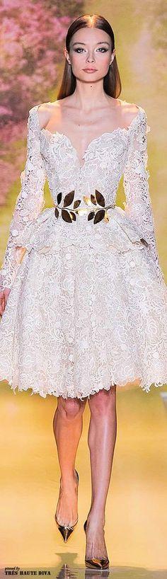 Tendance Robe De Mariée 2017/ 2018 : Zuhair Murad Spring 2014 Couture