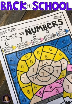 Color by Numbers 1-10 was created and designed to help students identify the numbers 1-10 and increase their number order recognition skills. Number identification sets the foundation for young children to learn more complicated math concepts. When children are able to easily recognize numbers their confidence will soar encouraging a positive relationship with math.