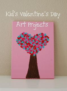kid's valentine art projects