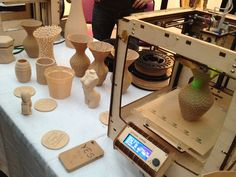 Printing in wood, insects and clay Make 3d Printer, 3d Printer Kit, 3d Printing Diy, 3d Printing Business, 3d Printer Designs, 3d Printing Service, Types Of 3d Printers, Wood For Sale, Diy Cnc