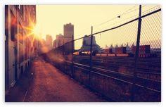 Sunlight on the city