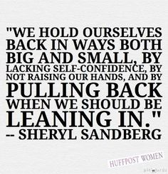 11 Best Quotes From Sheryl Sandberg's 'Lean In'