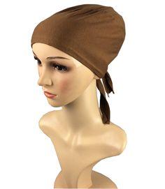 Inner Muslim render Cap Hijab underwear Underscarf 100% Viscose Jersey Plain Soild Color Islamic Head Wear Hat Underscarf