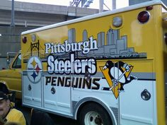Pittsburgh Steelers~ Steelers Tailgate Mobile in Pittsburgh