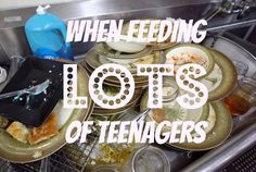 Passionate Perseverance: when feeding lots of teenagers. Youth Group Lessons, Youth Ministry, Teenagers, Group Travel, Desserts, Fiction, Faith, Food, Kids