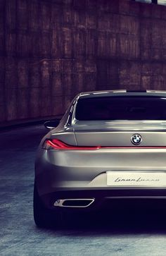 BMW Gran Lusso Coupe by Pininfarina.