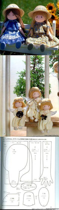 Отличный журнал по пошиву замечательных куколок | Как я люблю кукол! | Постила