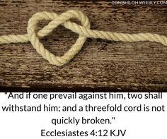Ecclesiastes 4:12 KJV