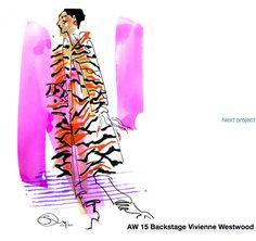 Sue Dray - Vivienne Westwood Vivienne Westwood, Illustration, Fashion, Moda, Fashion Styles, Illustrations, Fashion Illustrations, Fashion Models