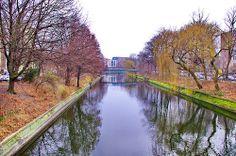 Berlin, Landwehrkanal, Maybachufer (rechts), Paul-Lincke-Ufer 3