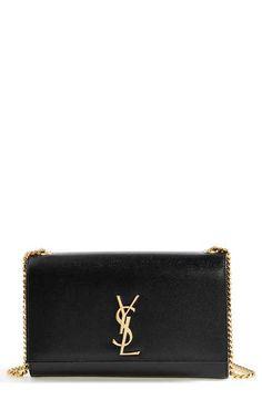 Saint Laurent 'Medium' Leather Chain Shoulder Bag