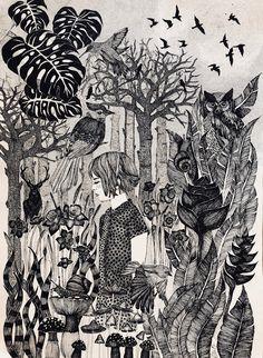 〰 hikayesi yazılmamış masallar / tales without stories 〰〰〰〰〰〰〰〰〰〰〰〰〰〰〰〰〰〰〰 #dreaming #art #drawingart #sketchbook #illustration #illüstrasyon #illustratorsofinstagram #drawing #drawingoftheday #sanat #watercolorandink #abstractart #abstractpainting #suluboya #instadraw #instaart #sanat #mixmedia #contemporaryart #artlovers #fineart #rapidograph #inkdrawing