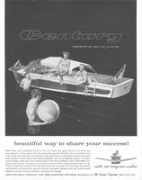 Century Resorter 19 Boat 1959 Ad Picture