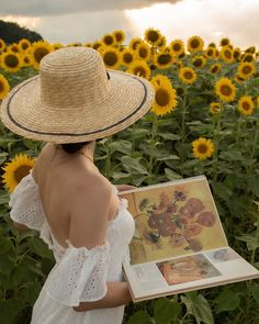 """Zornitsa Ivova's Instagram photo: """"Creating a painting in painting 🌻 Of course I can't compete with Van Gogh's Sunflowers, but did it work at least a little?"""" Wallpaper Nature Flowers, Classy Aesthetic, Summer Memories, Traditional Paintings, Van Gogh, Black And Brown, Korean Fashion, At Least, Pictures"""