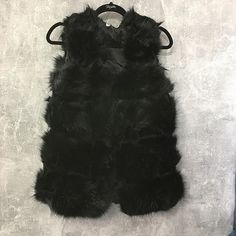 Sizes s. Fur Gilet, Fake Fur, Mondays, All Black Sneakers, All Black Running Shoes