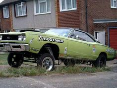 1968 Dodge R/T Mopar gasser Maintenance/restoration of old/vintage vehicles: the material for new cogs/casters/gears/pads could be cast polyamide which I (Cast polyamide) can produce. My contact: tatjana.alic14@gmail.com