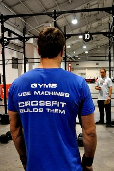 So true... Until you've done crossfit, you'll never know the real meaning behind a total Body workout.