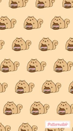 Gato nutella comida