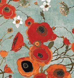 Poppies by Voysey @ artneedlepoint.com