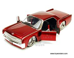 Jada Toys Bigtime Kustoms - Lincoln Continental Hard Top (1963, 1/24 scale diecast model car, Asstd.) 90609FA