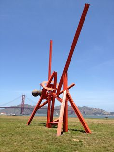 Mark di Suvero, Crissy Field, San Francisco, 2013