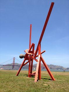 Mark di Suvero, Crissy Field, San Francisco, 2013