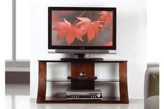 """Jual Furnishings JF201-850 Curved Wood Walnut TV Stand 37-42"""" is a beautifully designed piece which combines tradition with modern to make a unique range of furniture. #Furniture #PriceCrashFurniture #LoungeAndLiving #Lounge #LivingRoom #JualFurnishings #TVStand http://pricecrashfurniture.co.uk/jual-furnishings-jf201-850-curved-wood-walnut-tv-stand-37-42.html"""