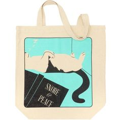 Snore And Peace Tote Bag
