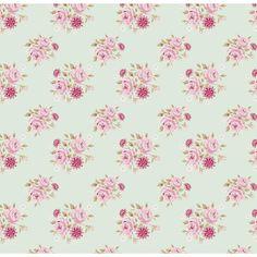 Tilda fabric 140cm Rose Teal