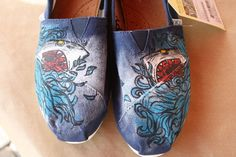 Shark Attack // Custom TOMS // Style Your Sole