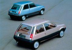 Photo about Renault 5 Automatic. Fiat Uno, Renault Express, Peugeot, Lemon Car, Rallye Raid, Automobile, Gt Turbo, Automotive Photography, Retro Cars
