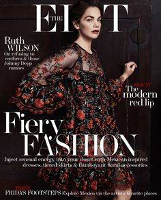The Edit 22 January 2015 Ruth Wilson by Steven Pan